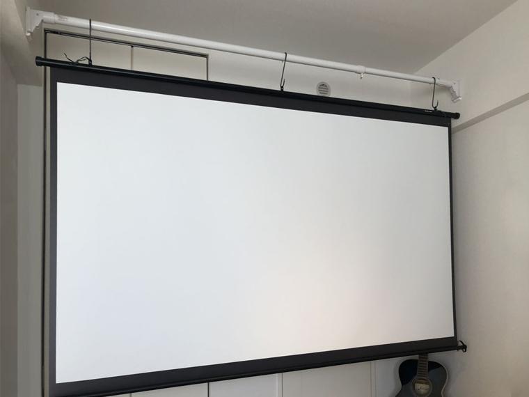 大画面で映像を楽しめ、とても満足