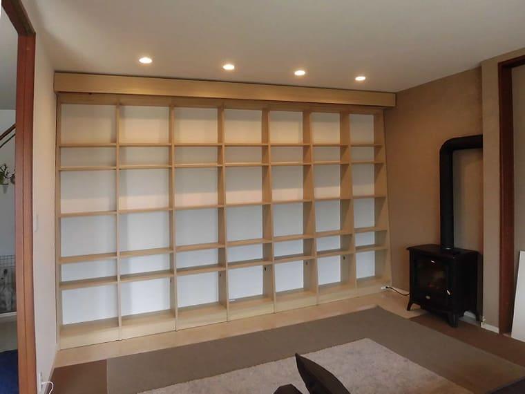 造作された書棚1