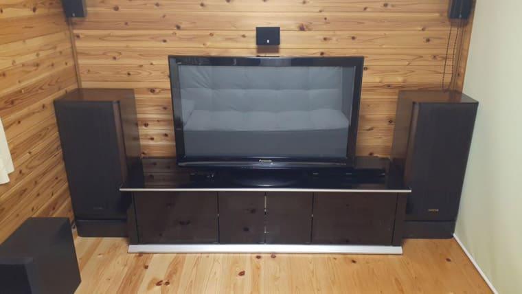 スクリーン収納時_TVボード