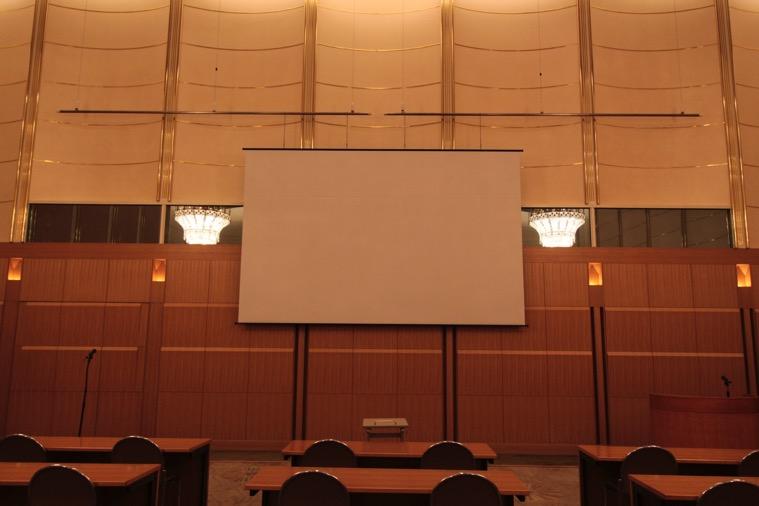 WXGA 200インチスクリーン