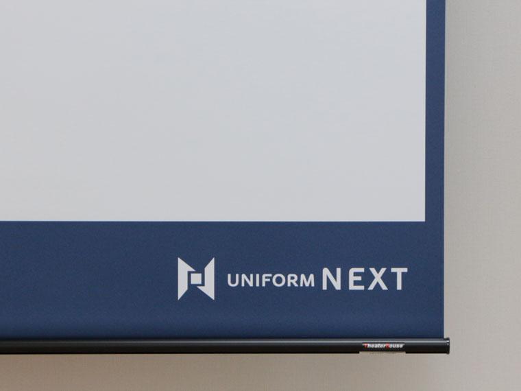 スクリーン幕面をオリジナル印刷