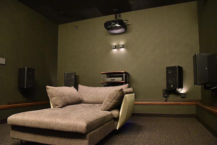 ホームシアター専用室