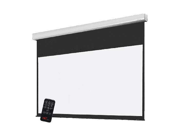 ケース付き電動プロジェクタースクリーン