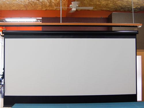 シネスコスクリーン製作事例